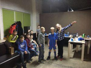 Комната отдыха в лазертаг клубе Атака Екатеринбург