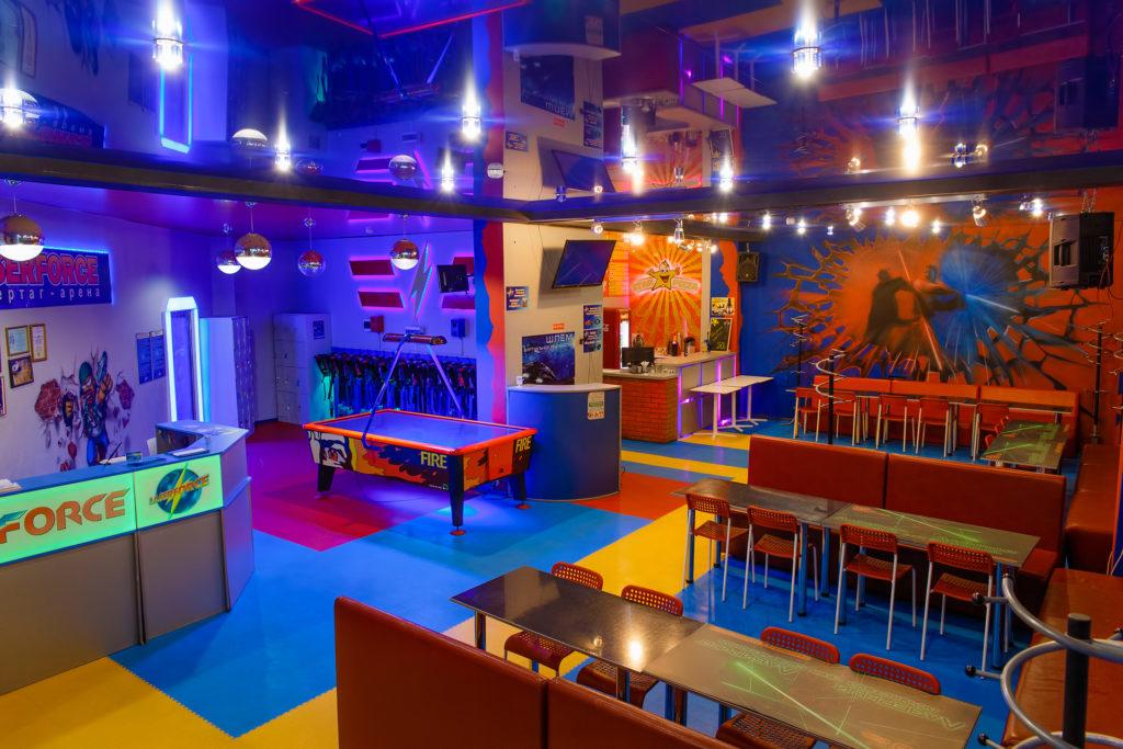 Лазертаг клуб Лазерфорс в Новосибирске