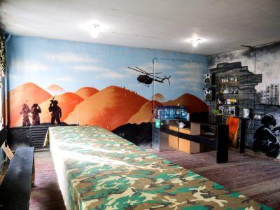 Банкетная комната Лазертаг клуб Ратник в Новосибирске
