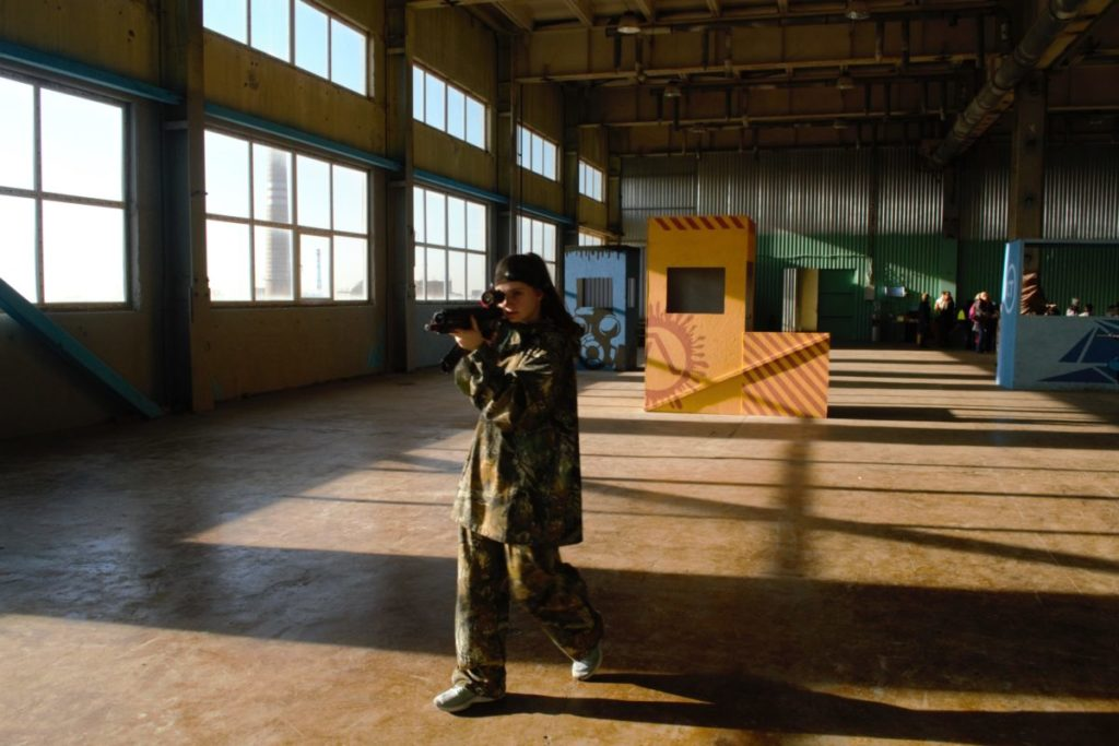 Лазертаг клуб X-Treme Base в Ростове-на-Дону Цитадель