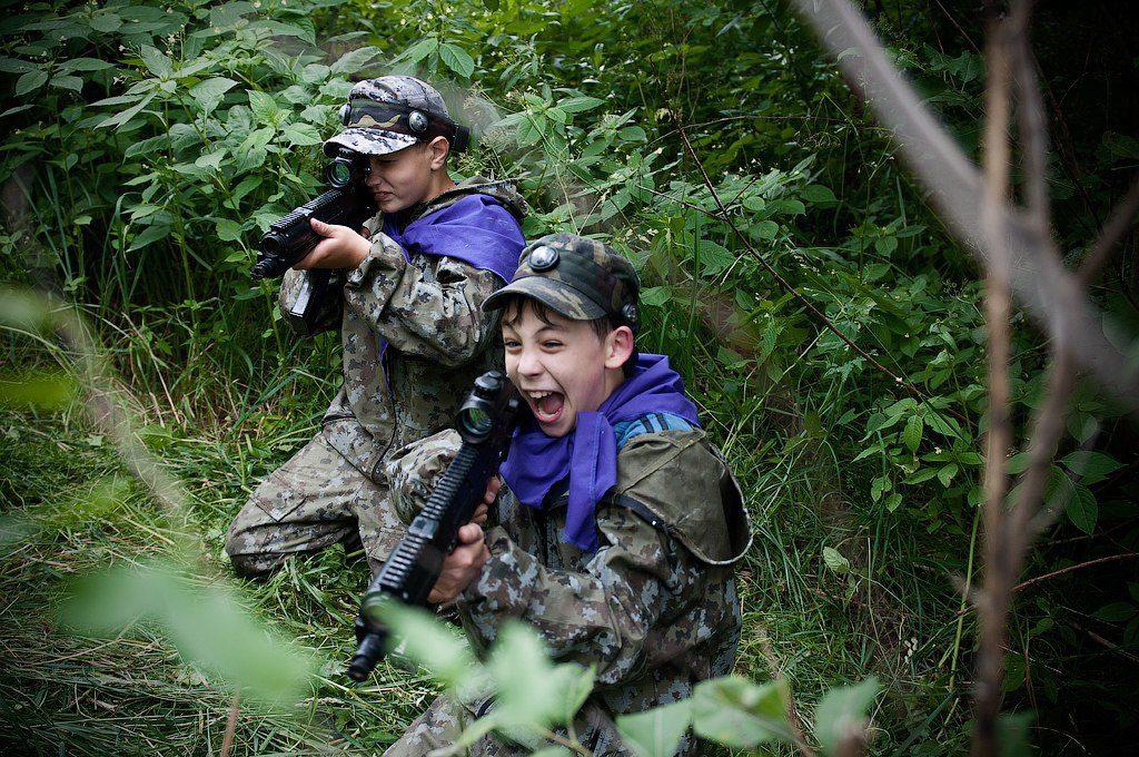 """Лазертаг-клуб Легионер """"Остров"""" в Уфе"""