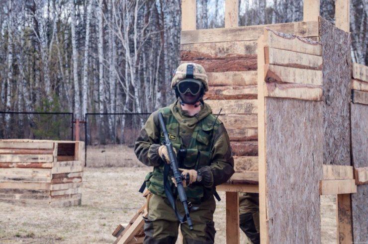 """Лазертаг-клуб Ernandes Military """"Боровое"""" в Тюмени"""