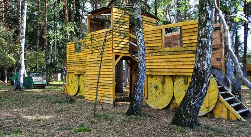 Лазертаг-клуб S.O.V.A в Московской области