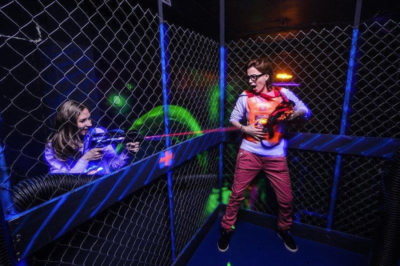 Лазертаг клуб Cosmozar Межпланетная база