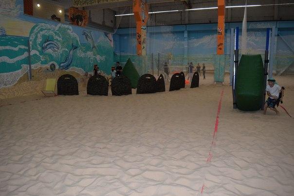 Лазертаг545 на песке Салова в Санкт-Петербурге
