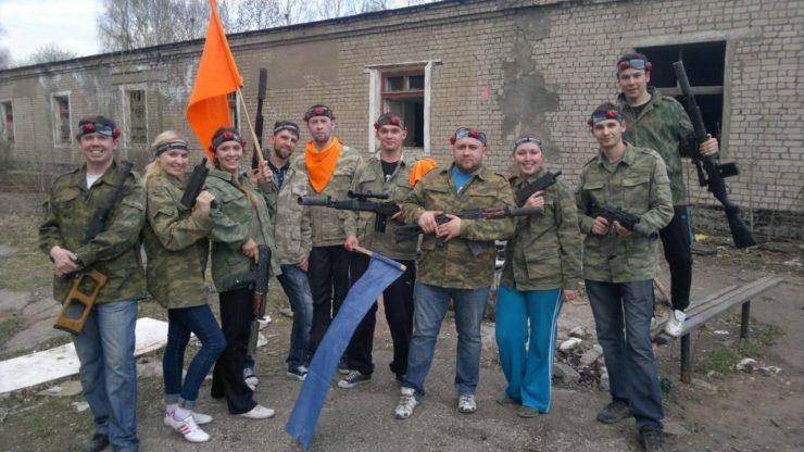 Лазертаг-клуб Старый прапор в Кирове