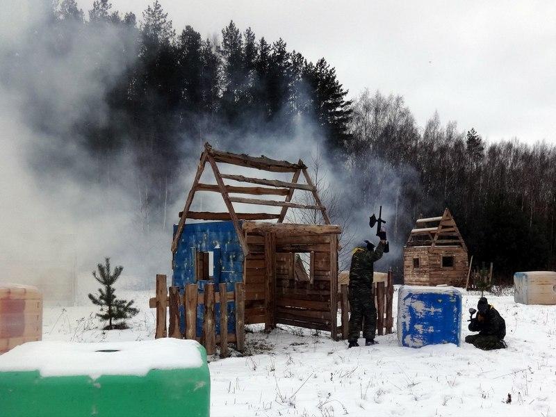 """Лазертаг-клуб GreenWaldPark """"Выболово"""" в Нижнем Новгороде"""