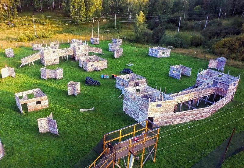 Лазертаг-клуб Ствол в Новосибирске