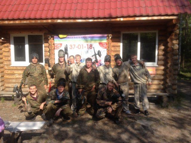 """Лазертаг-пейнтбол-клуб Легион """"Отрада"""" в Брянске"""