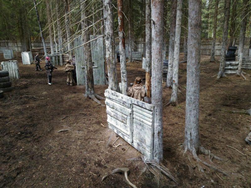 Лазертаг клуб КалашникOOF в Сывтывкаре