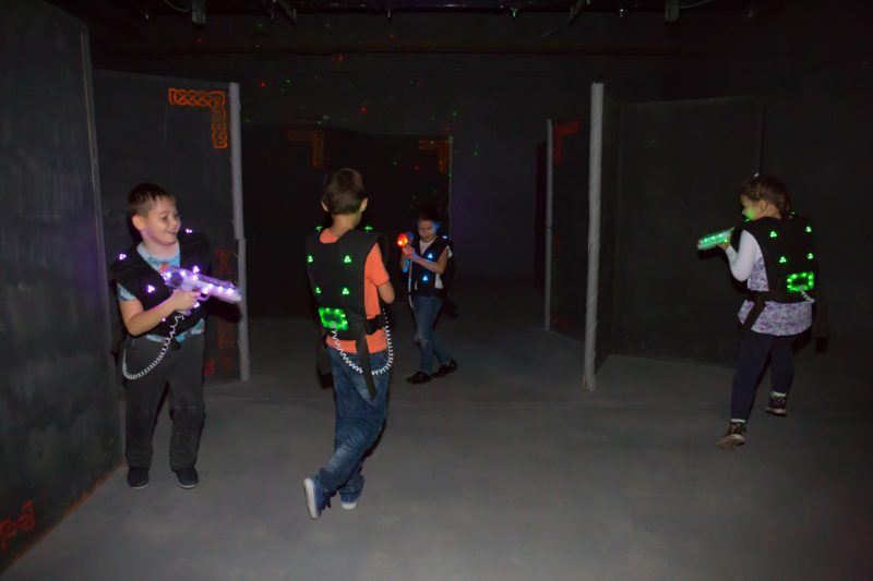 Лазертаг-клуб Царство №27 в Уфе