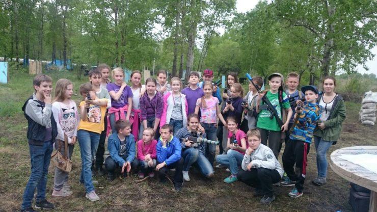 Лазертаг-клуб Спартак в Хабаровске