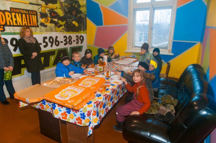 "Лазертаг-клуб Адреналин ""База"" в Череповц"