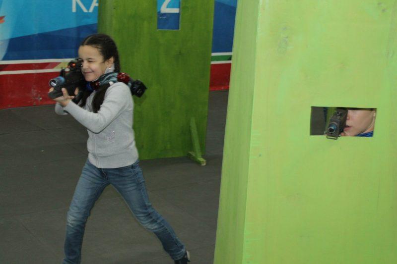 Лазертаг-клуб Патриот в Казани