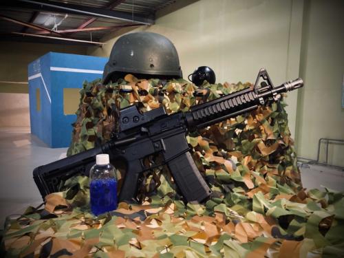 """Лазертаг-пейнтбол-гидробол-клуб Ernandes Military """"Город Z"""" в Тюмени"""