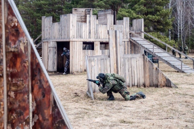 Лазертаг-клуб Ernandes Military