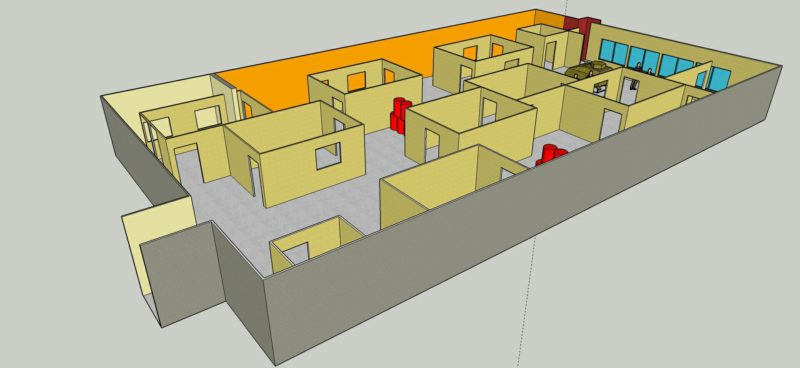 Лазертаг-клуб Штурм «Пятый элемент» в Тюмени