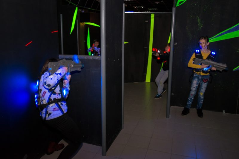 Лазертаг-клуб Blaster в Чебоксарах