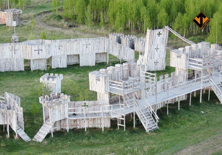 Лазертаг-клуб Штурм «База отдыха» в Тюмени