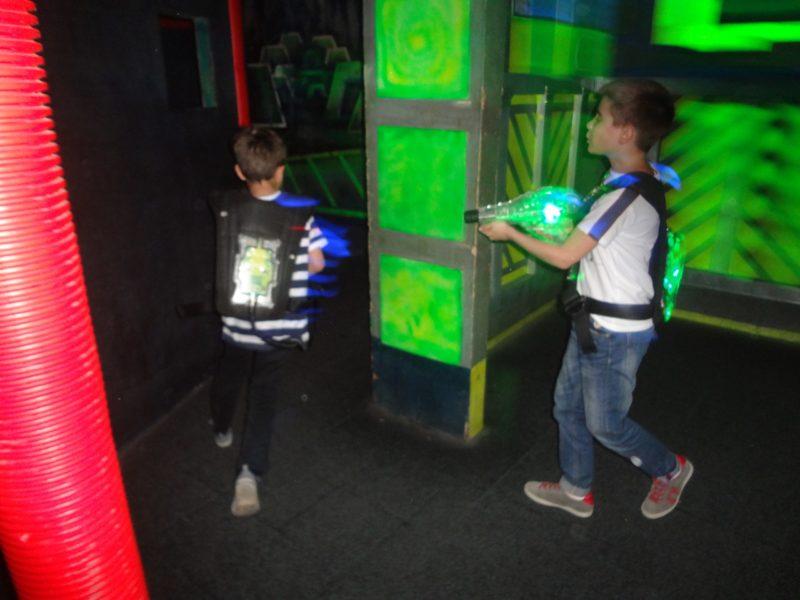 Лазертаг клуб Фотон в Уфе