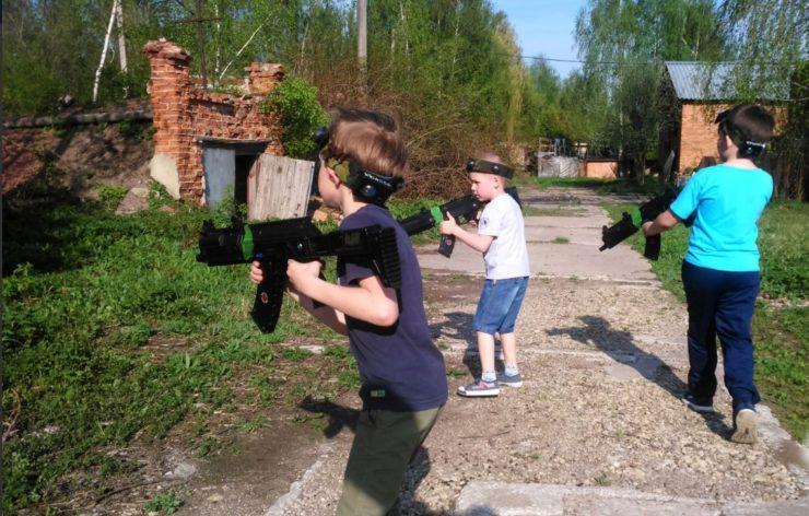 """Лазертаг-клуб Laser-shot """"Убежище 71"""" в Новомосковске"""