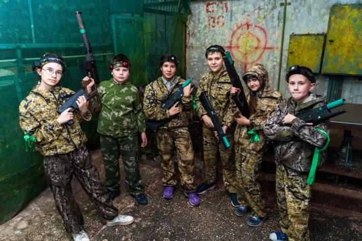Лазертаг-клуб База-38 в Иркутске