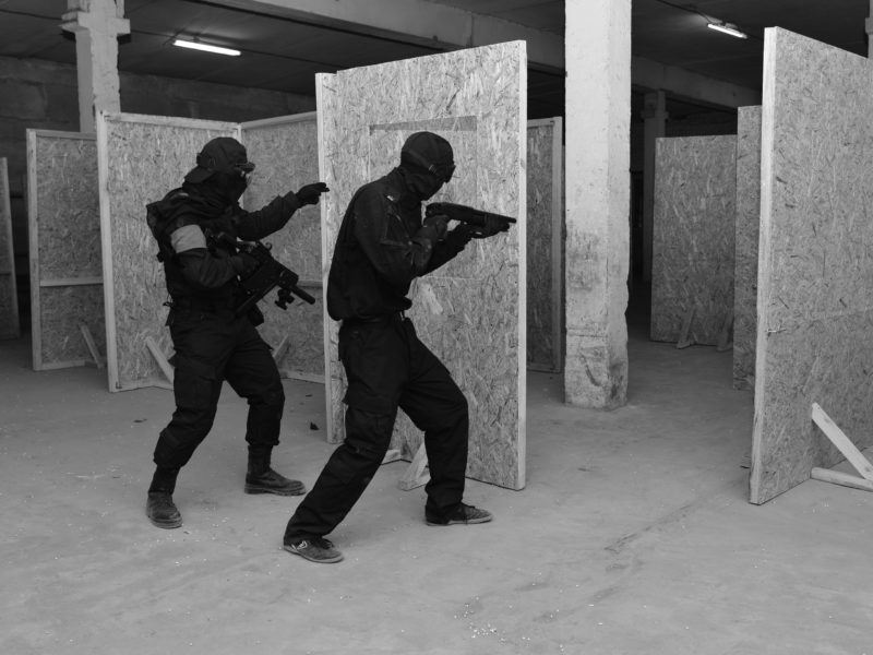 Лазертаг-клуб Битва в Нижневартовске