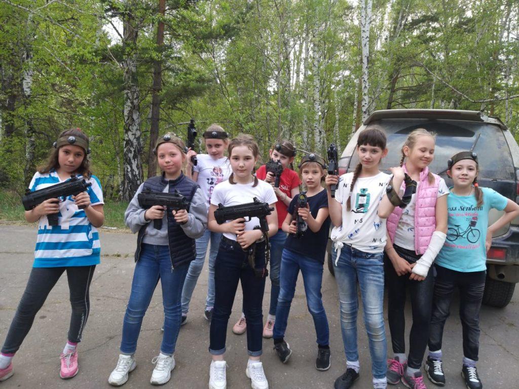 Лазертаг-пейнтбол-клуб Волкодав в Иркутске