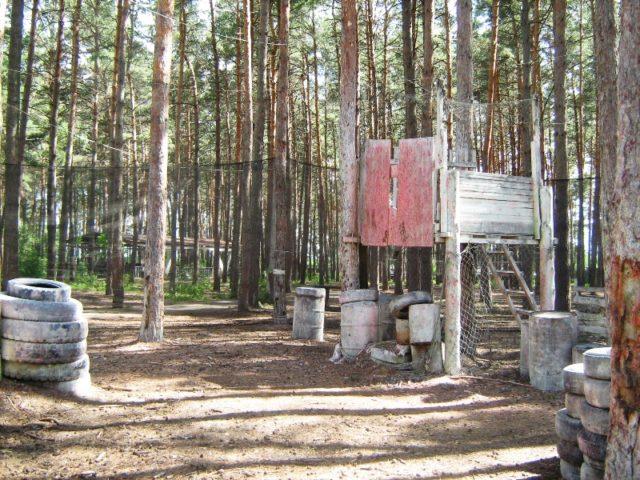 Пейнтбольный клуб Девятый в Курске