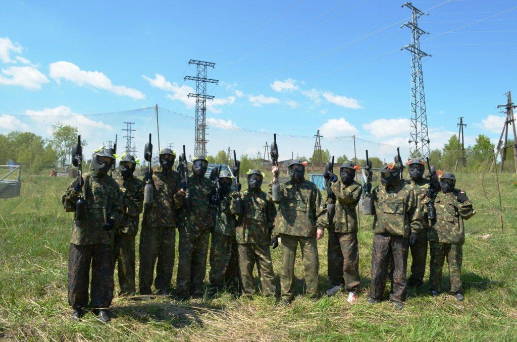 Пейнтбольный клуб Абсолют-Пантера в Новокузнецке