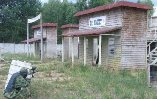 Лазертаг-пейнтбол-клуб Томагавк в Новосибирске