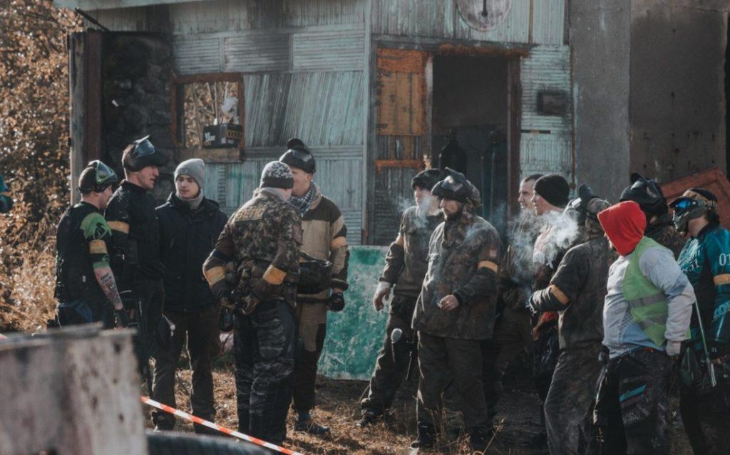 Пейнтбольный клуб Top Gun в Мурманске