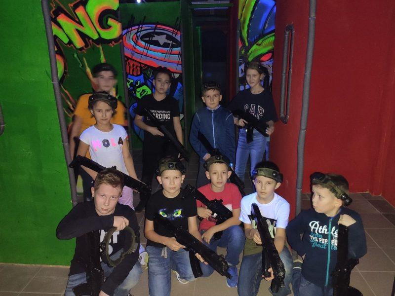 Лазертаг клуб Спарта в Казани
