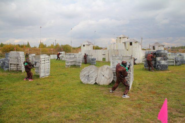 Пейнтбольный клуб Тульский легион в Туле