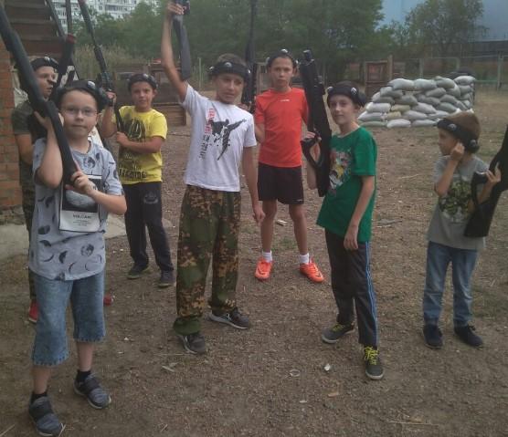Лазертаг-пейнтбол-клуб Б-41 в Ростове-на-Дону