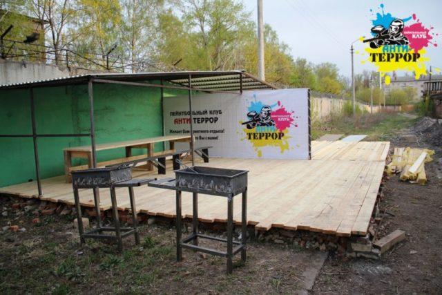 Лазертаг-пейнтбол-клуб Анти-террор в Туле