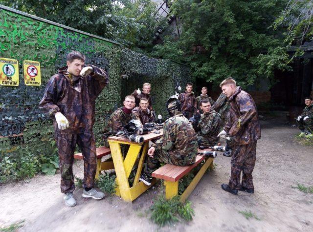 Пейнтбольный клуб Братья по оружию в Саратове