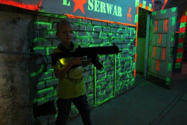 Лазертаг-клуб Лазервар в Калининграде