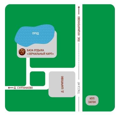 Лазертаг-пейнтбол-клуб на базе отдыха Зеркальный карп в Уфе