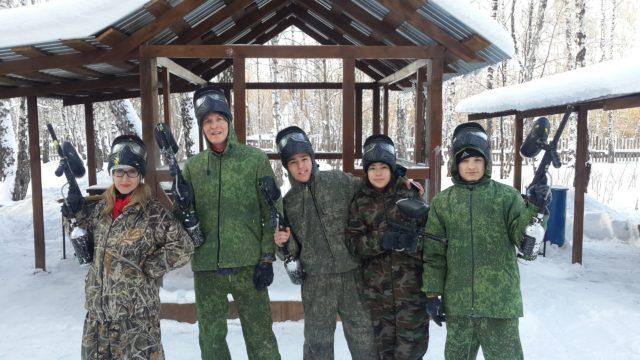 Лазертаг-пейнтбол-клуб Восторг в Челябинске