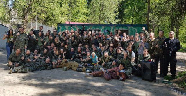 Лазертаг-пейнтбол-клуб Миротворец в Москве