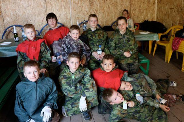 Лазертаг-пейнтбол-клуб Москва-Восток в Москве
