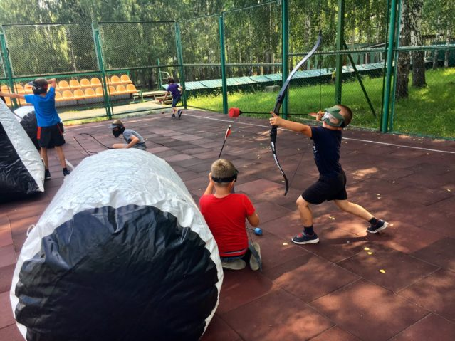 Арчеритаг-клуб ArcheryBattle22 в Барнауле