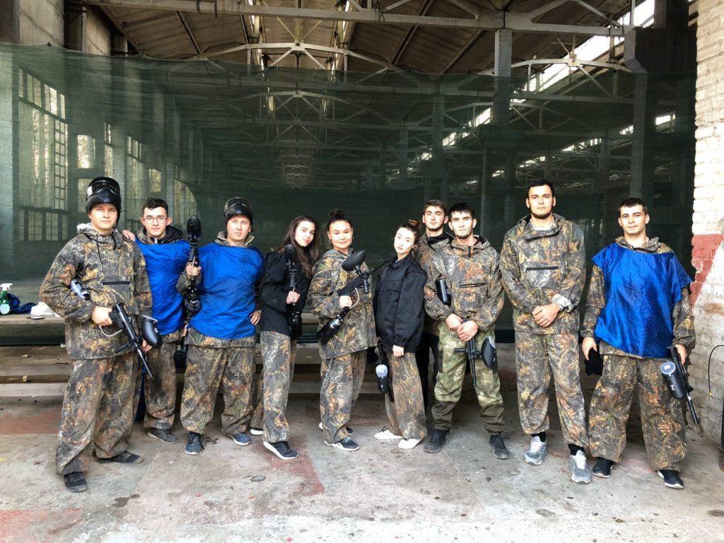 Пейнтбольный клуб BlackShot в Астрахани