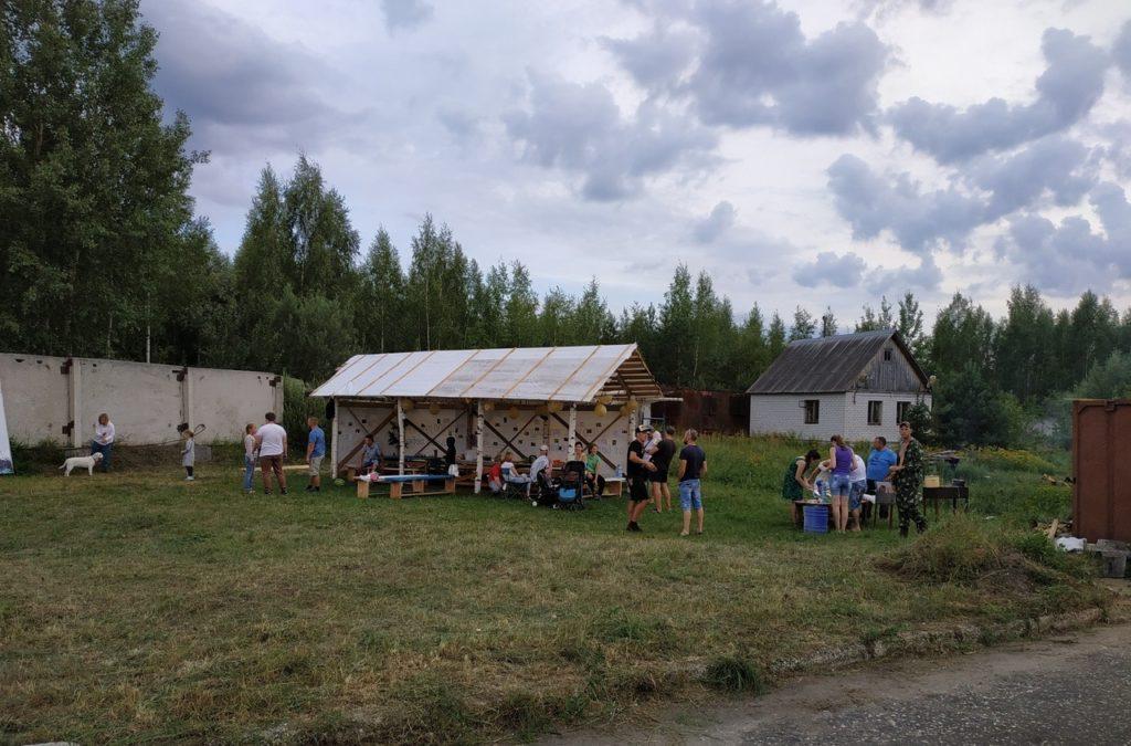 Пейнтбольный клуб База 33 во Владимире