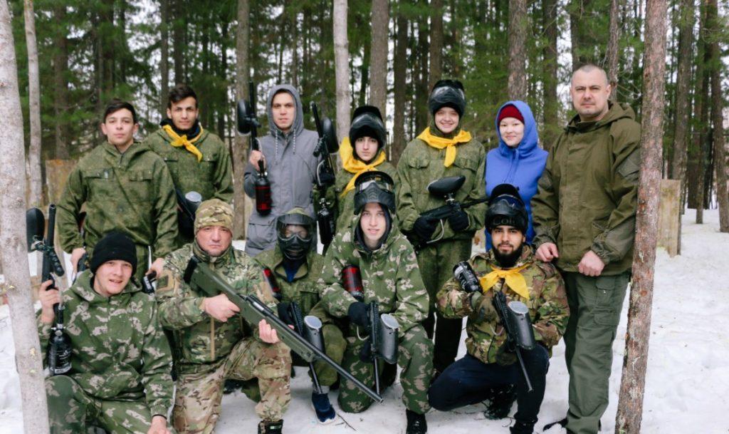 Пейнтбольный клуб Спецназ в Нижневартовске