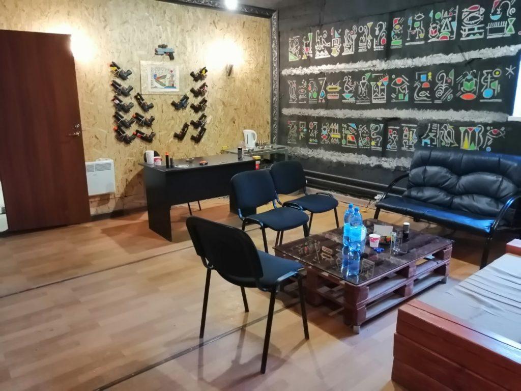 Кидбол-клуб Арена в Омске