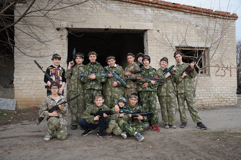 Лазертаг-клуб С.К.В.О.161 в Батайске
