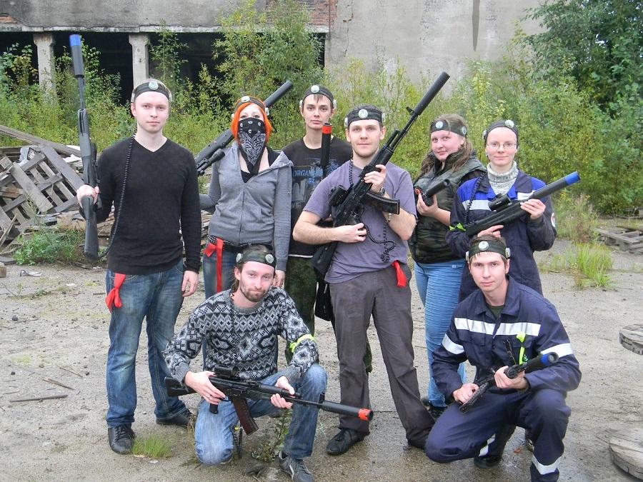 Лазертаг-клуб Sector X в Череповце