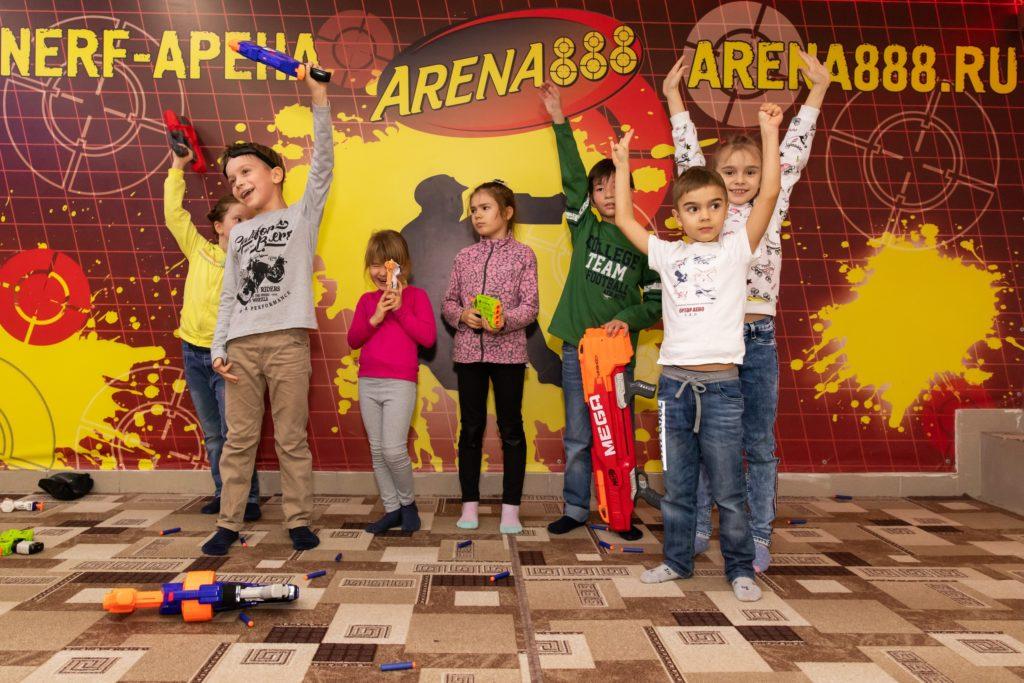 Нерф-клуб Arena 888 в Челябинске